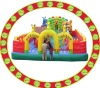 outdoor inflatable amusement park