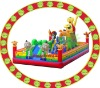 outdoor inflatable theme park