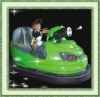 park amusement  adults bumper car