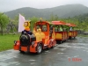 park  trackless diesel train / necessary equiment for scenic spot