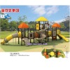 plastic and steel playground TX-9007A