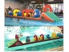{super deals}Inflatable Water Games/water slide/pool