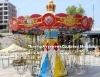 thrilling amusement park equipment flying chair rides