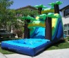 top hot selling Tropical water slide with pool