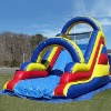 top hot selling inflatable water slide for kids and adult