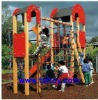 wood outdoor playground TXL-044F