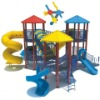 wooden playhouses with slide