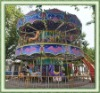 your professional games park musical double deck carousel